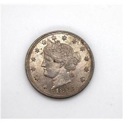 1883 No Cents Liberty Nickel Choice Uncirculated