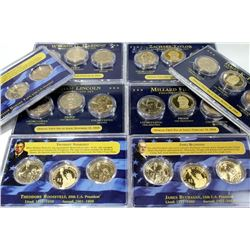 10 PDS Sets of Presidential Dollars Inc. Proofs