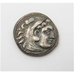 Alexander the Great Silver Drachm With COA