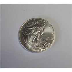 1996 American Silver Eagle Key Date Gem Unc.