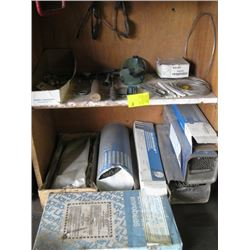 A LOT OF MISC WELDING ROD & ACCESSORIES