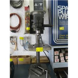 ROCKWELL BENCH DRILL PRESS WITH VISE