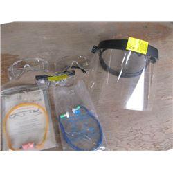 MASK, GLASSES & EAR PLUGS
