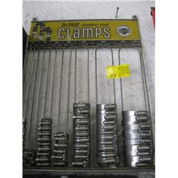 HOSE, CLAMP RACK & CLAMPS
