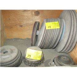 """A LOT OF 7"""" & 10"""" CUTTING/GRINDING DISCS"""