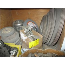 A LOT OF CUTTING/GRINDING DISCS & MISC