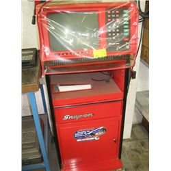 SNAP-ON COUNSELOR II ENGINE ANALYZER WITH MANUAL & STAND