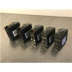 (5) GE FANUC IC693PWR330G POWER SUPPLY MODULE