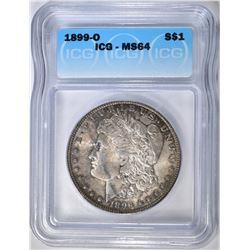 1899-O MORGAN DOLLAR ICG MS-64