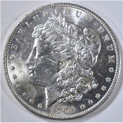 1904-O MORGAN DOLLAR, GEM BU