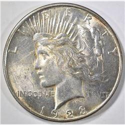 1923-D PEACE DOLLAR BU