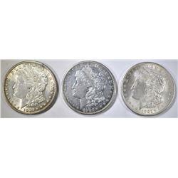 NICE CIRC 1921-P-D&S MORGAN DOLLARS