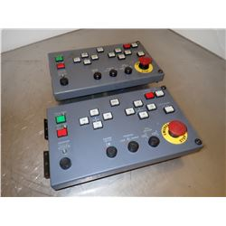(2) IDEC ZY1C-SS 3153-1 Control Panel