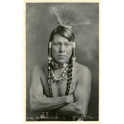 Antique / Vintage Real Photo PC Oregon Indian Signed