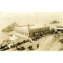 Antique / Vintage Real Photo PC Cliff House S.F. CA