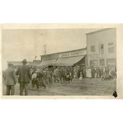 Antique / Vintage Real Photo PC American Town Street