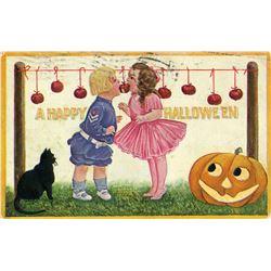 Antique / Vintage Postcard Halloween