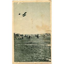 Antique / Vintage Postcard Pioneers Aviation