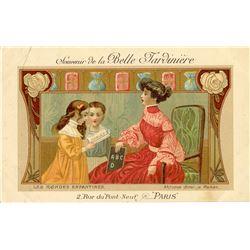 Antique / Vintage Postcard French Illustration