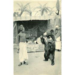Antique / Vintage Rare Postcard India Actors
