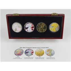 2004 ULTIMATE SILVER EAGLE COLLECTION