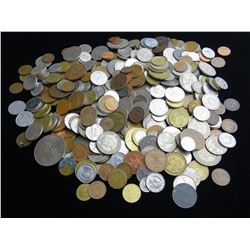 5 POUND BAG OF WORLD COINAGE