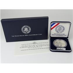 1992 WHITE HOUSE 200TH ANNIVERSARY PROOF DOLLAR