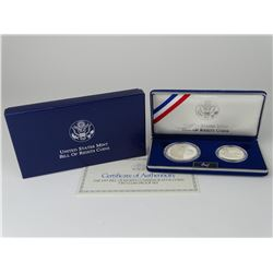 1993 BILL OF RIGHTS TWO-COIN SET