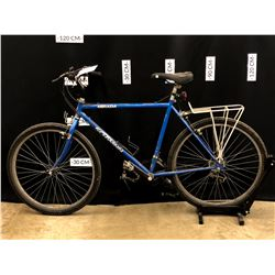 BLUE SCHWINN MIRADA 21 SPEED TRAIL BIKE, 77 CM STANDOVER HEIGHT