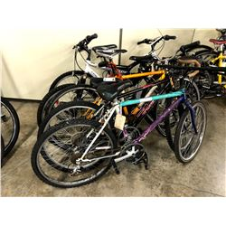 LOT OF 5 ASSORTED PARTS ONLY/POOR CONDITION BIKES, VARYING CONDITIONS, VARYING BRANDS