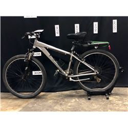 GREY OPUS FRONT SUSPENSION MOUNTAIN BIKE, SMALL FRAME SIZE, 74 CM STANDOVER HEIGHT