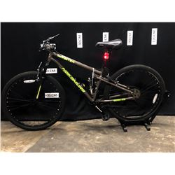 BROWN  NAKAMURA MONSTER 21 SPEED FRONT SUSPENSION MOUNTAIN BIKE, SMALL FRAME SIZE, 75 CM STANDOVER