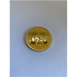1976 NEW WESTMINSTER GOLD TRADE DOLLAR