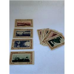 VANCOUVER GOLDEN JUBILEE STAMPS 1886-1936