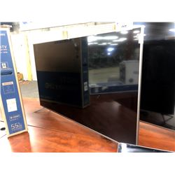 "HAIER 55"" FLATSCREEN TV, SCRATCH ON SCREEN, MODEL 55UG6550G, WITH REMOTE"