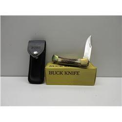 Buck Knife Folding Hunter Stag