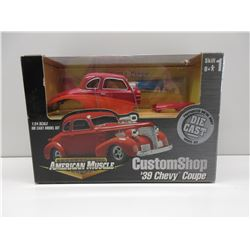 1:24 Custom Shop 39 Chevy Coupe