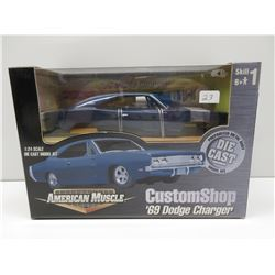 1:24 69 Dodge Charger Custom Shop