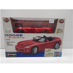 1:24 2003 Dodge Viper SRT 10