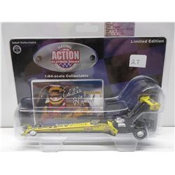 1:64 Eddie Hill Pennzoil 1997 Dragster Racing Action Platinum Series