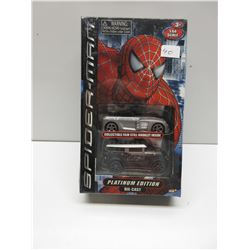 1:64 Spiderman Platinum Edition Diecast