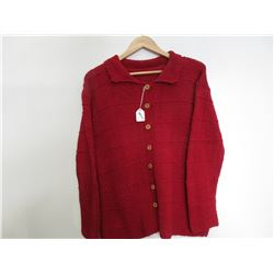 Wool Button up Sweater