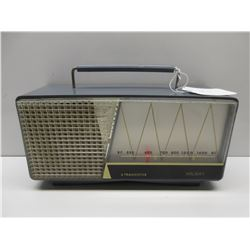 Working Blue Holiday Transistor AM Radio