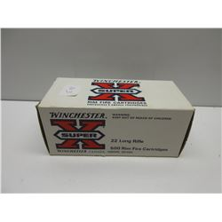 Carton Winchester Super X 22 Long Rife 500 rounds