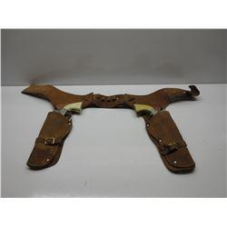 Set of Young Buffalo Bill Toy Guns & Holster