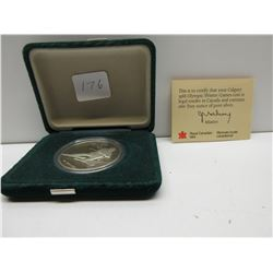 1988 Calgary $20.00 Olympic Coin Skier