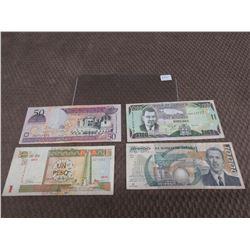 Foreign Currency - Cuba, Dominicana, Jamaica & Mexico