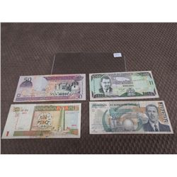 Foreign Currency - Cuba, Dominicana, Jamaica & Mexico
