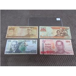 Foreign Currency - Jamaica, Dominicana, Thailand & Dominicana