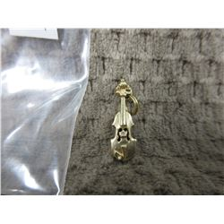 10 KT Gold Charm of Violin 2.11 grams